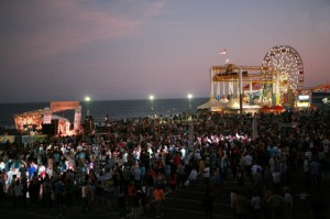santa monica pier twilight concerts